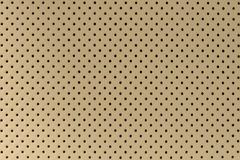 Car perforated leather background. Royalty Free Stock Photography