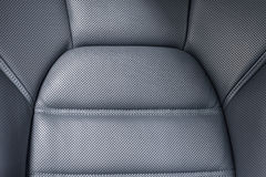 Car perforated leather seat. Stock Image