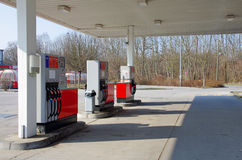 Car petrol gas station Royalty Free Stock Photo
