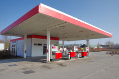 Car petrol gas station Royalty Free Stock Images