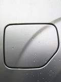 Car petrol lid close-up Stock Images