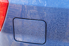 Car petrol lid close-up Stock Photos