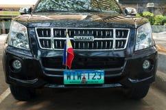 Car with philippine flag Stock Photos