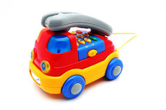 Car phone toy Royalty Free Stock Photo