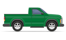 Car pickup vector illustration Stock Photography