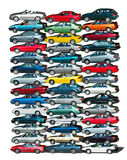 Car Pile royalty free stock images