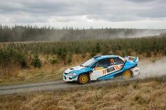 Car at Pirelli International Rally Royalty Free Stock Images
