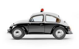 car police retro Στοκ φωτογραφία με δικαίωμα ελεύθερης χρήσης