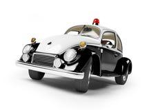 car police retro Στοκ Φωτογραφία