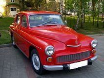 Car Polish Warsaw. Stock Photography
