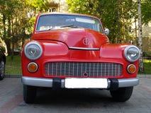 Car Polish Warsaw. Royalty Free Stock Photos