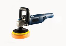 Car polishing machine Stock Photography