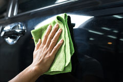 Car polishing series Stock Images