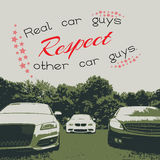 Car poster Royalty Free Stock Photo