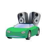 Car speakers Stock Photos
