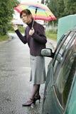 Car problem Stock Images