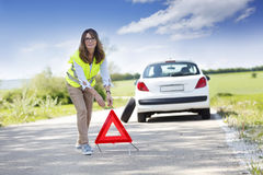 Car problems Royalty Free Stock Photo