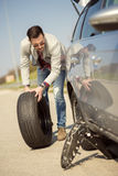 Car problems Royalty Free Stock Photography