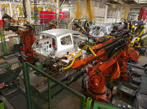 Car production Stock Images