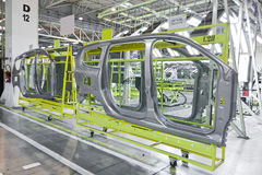 Car production Royalty Free Stock Image