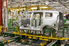 Car production Royalty Free Stock Images