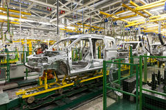 Car production royalty free stock photography