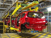 Car production 3 Royalty Free Stock Image