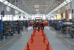 Car production Royalty Free Stock Photo