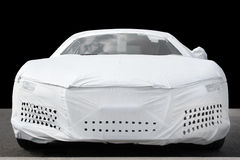 Car Protection Cover Stock Photo