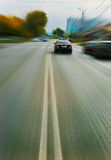 Car quickly going Royalty Free Stock Photo