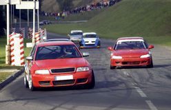 Car race Stock Photography