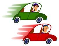 Car race stock illustration