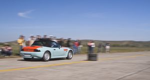 Car race stock photography