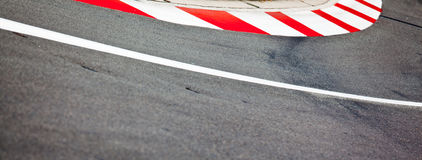 Car race asphalt Royalty Free Stock Photos