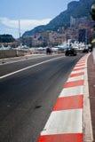 Car race asphalt Stock Photography