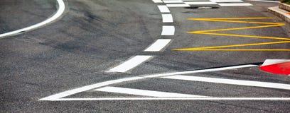 Car race asphalt Royalty Free Stock Images
