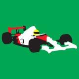 Car race sport. Illustration royalty free illustration