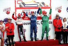 Car race winners Stock Photo