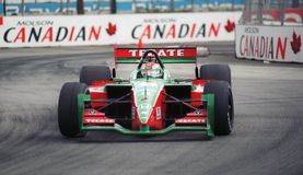 Car racer Adrian Fernandez Royalty Free Stock Photo