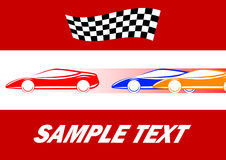 Car races Royalty Free Stock Images