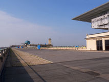 Car Racetrack on the top of the Lingotto building in Turin Italy Stock Photography