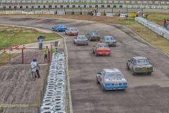 Car racing Stock Photography