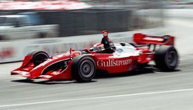 Car racing Royalty Free Stock Images