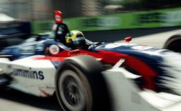Car racing Stock Photography