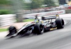 Car racing Royalty Free Stock Photo