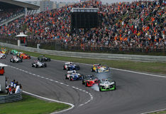 Car Racing(A1 GP) Royalty Free Stock Image