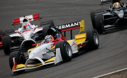 Car Racing(A1 GP) Stock Photos