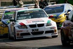 Car Racing(Alessandro ZANARDI,FIA WTCC). Alessandro ZANARDI(ITA), FIA WTCC race : in ITALIA,Circuit Monza, April 02. 2006. BMW 320si,#BMW Team Italt-Spain Stock Photography