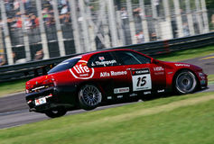 Car Racing,Alfa Romeo 156(FIA WTCC) Stock Photo