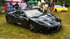 Car Racing, Auto Race, Ferrari Vehicles Stock Photo